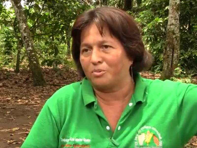 Carmen Zambrano: Mother and Community Leader from Ecuadorian Amazon vs. Chevron